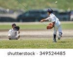 Practice Of Boy Baseball