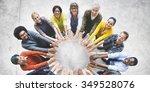 friendship happiness... | Shutterstock . vector #349528076