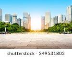 china guangzhou city plaza ...   Shutterstock . vector #349531802
