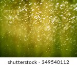 abstract defocused bokeh... | Shutterstock . vector #349540112