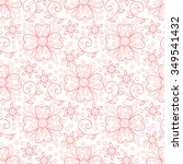 Abstract Flower Seamless...