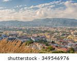 view of the city of sorrento... | Shutterstock . vector #349546976