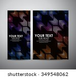 abstract colorful arrow in... | Shutterstock .eps vector #349548062