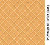 wafer surface seamless vector... | Shutterstock .eps vector #349548356