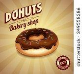 donuts | Shutterstock .eps vector #349558286