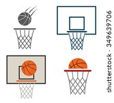 basketball net icon | Shutterstock .eps vector #349639706