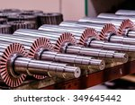 the electric motor rotor of... | Shutterstock . vector #349645442