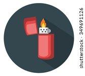 Lighter Icon   Flat Icon