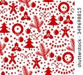 vector illustrations of pattern ... | Shutterstock .eps vector #349698815