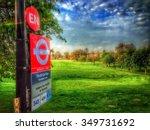 peckham rye bus stop | Shutterstock . vector #349731692