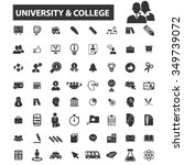 university  college  education... | Shutterstock .eps vector #349739072