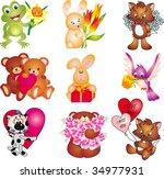 cartoon_1 vector | Shutterstock .eps vector #34977931