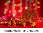 chinese new year festival... | Shutterstock . vector #349789028