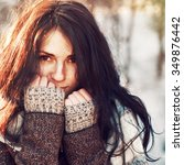 Sensual Pretty Young Woman...