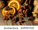 christmas spices    Shutterstock . vector #349907435