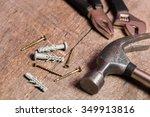industrial tools   Shutterstock . vector #349913816