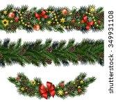 seamless design elements for... | Shutterstock .eps vector #349931108