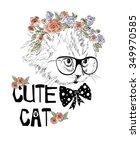 cute cat   Shutterstock .eps vector #349970585