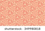 red wave pattern | Shutterstock .eps vector #349980818