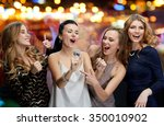 holidays  friends  bachelorette ... | Shutterstock . vector #350010902