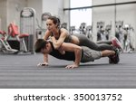 fitness  sport  training ... | Shutterstock . vector #350013752