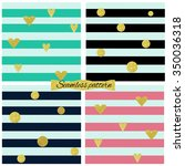 Four Seamless Pattern With...