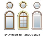 Three Arched Windows. A Set Of...