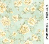 flowers seamless pattern   for... | Shutterstock . vector #350063876