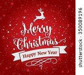 christmas sale design template   Shutterstock .eps vector #350089196