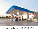 morning fueling station out of...   Shutterstock . vector #350122892