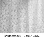 White Fabric Lace With Small...