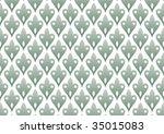 decorative wallpaper design in...   Shutterstock .eps vector #35015083