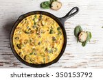 Baked Egg Frittata With Spinac...