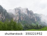 majestic mountain landscapes of ... | Shutterstock . vector #350221952