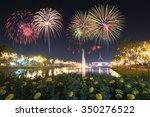 Colorful Fireworks At Suan...
