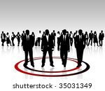 leadership | Shutterstock .eps vector #35031349