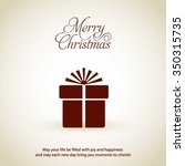merry christmas and happy...   Shutterstock .eps vector #350315735