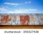 Old Iron Roof On Teakwood Hous...