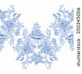 seamless vector background with ... | Shutterstock .eps vector #350345006