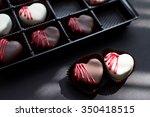 White And Dark Chocolate Red...