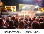blurry focus of people join the ... | Shutterstock . vector #350422328