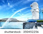 The Merlion Fountain In...