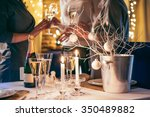 christmas or new year party... | Shutterstock . vector #350489882