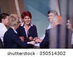 startup business people group...   Shutterstock . vector #350514302