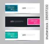 vector design banner... | Shutterstock .eps vector #350557232