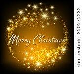 merry christmas festive design. ... | Shutterstock . vector #350575232