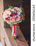 wedding bouquet | Shutterstock . vector #350606165