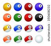 Set Of Balls For Pool    ...