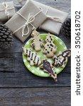 cookies shaped tree  phineas...   Shutterstock . vector #350618702