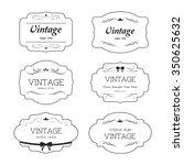 premium label vintage style... | Shutterstock .eps vector #350625632